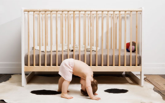 Image of: Green Baby Furniture In Start Slideshow Ecofriendly Cribs For Green Babies Inhabitots
