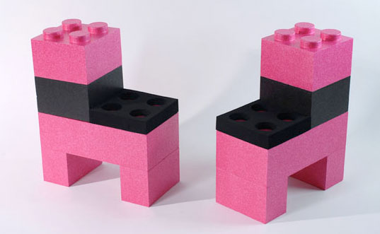 Build Your Own Furniture Out of Life-Sized Lego Pieces!   Inhabitots