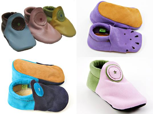 Vegan Robeez Leather Baby Shoes