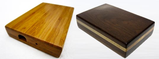 BP Custom Woodworks Harddrives, Inhabitots Green Father's Day Gift Guide, Green Fathers Day Gifts, Green Gift Guide, eco gift guide, eco gifts, green gifts, environmental gifts, sustainable gifts, Fathers day gifts, green design, eco design, sustainable design, wooden radio, eco snowboard, terra plana shoes, vegan shoes, green shoes, eco shoes, wallets made from ties