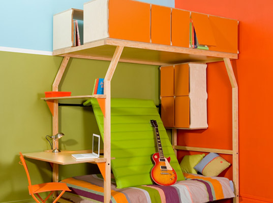 Espace Loggia, small spaces, green kids, eco kids, green babies, eco babies