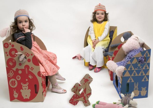 toytoy, canadian, quebec, design, eco, green, sustainable, chair, chaise, cardboard, recycled