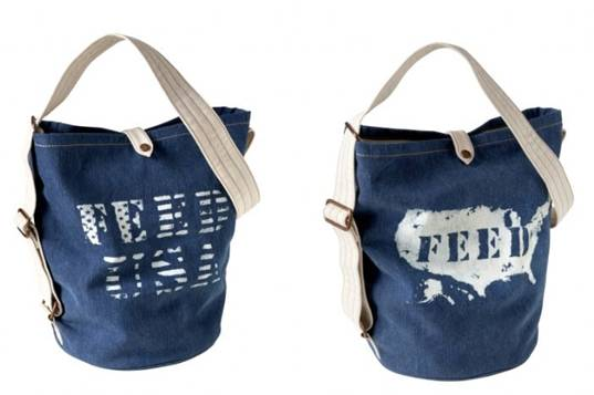 better school lunches,  eco bag,  FEED Bag,  FEED USA,  Gap,  reusable bag,  school lunch