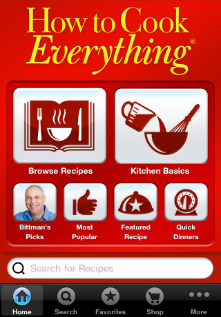 mark bittman, how to cook everything app, eco friendly family cooking, eco friendly kids cooking