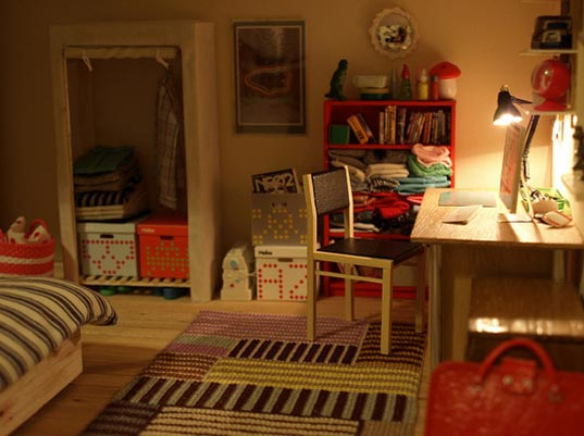 handmade dolls house furniture. Diston\u0027s Down To Earth Dollhouse Is A Refreshingly Realistic Portrayal Of Daily Life On Scale That Tiny In Size But Teeming With Craftsmanship. Handmade Dolls House Furniture M