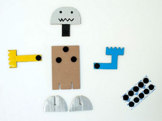 link roundup, made by joel, paper dolls, cardboard velcro dolls, kids craft, diy craft