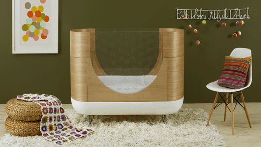 Ubabub's Modern Eco Pod Cot Grows With Your Child