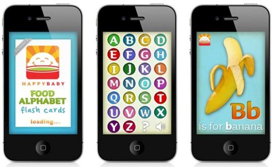 apps for kids, baby iphone app, iphone safety, technology for families, technology for kids, baby cell, cell phones, apps, free baby app, First Alphabet Flash Cards iPhone App