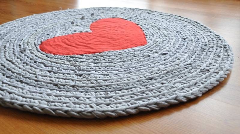T Shirt Crochet Rug With Diagrams Diy Enthusiasts Wiring Diagrams