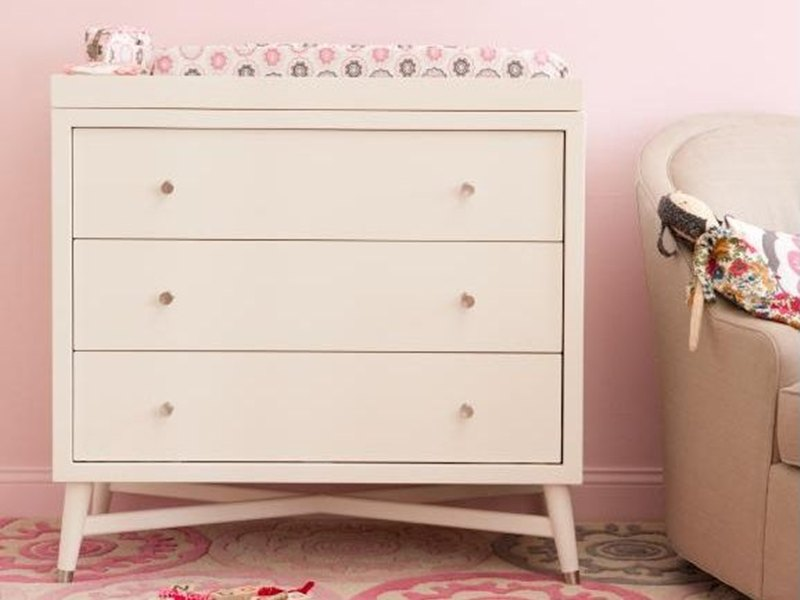 baby dresser white changing pin combo table