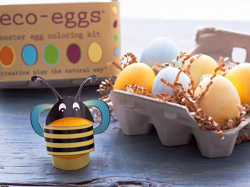 Eco-Eggs Easter Egg Coloring Kit Features Fruit & Vegetable Dyes ...