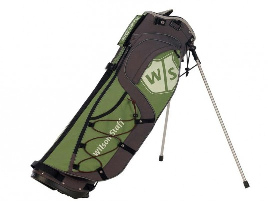 wilson eco-carry, recycled golf bag, green golf
