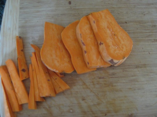 sweet potatoes, vegetarian father's day