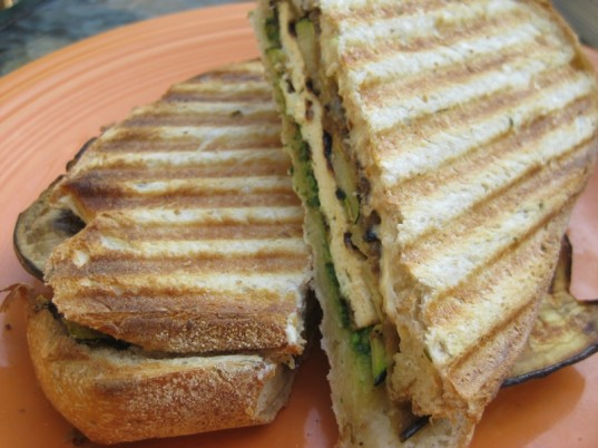 panini, vegetarian fourth of july