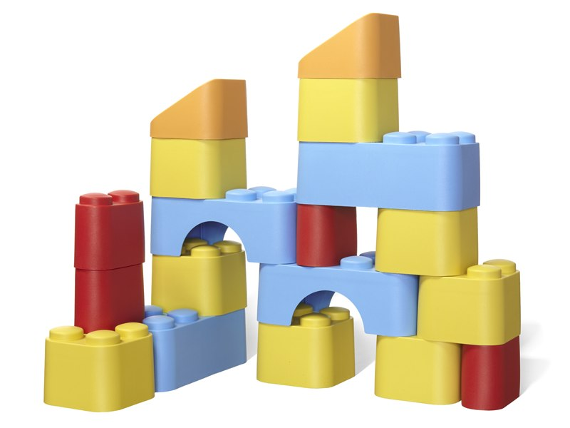 7 Colorful Eco Friendly Building Block Sets For Green Kids Inhabitots