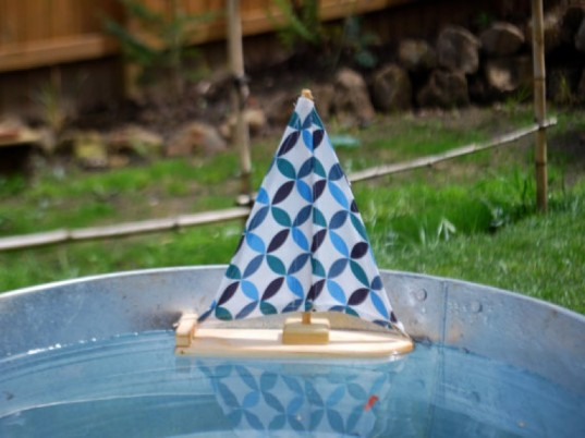 eco-friendly pool toys, organic cotton, sailboat, tweet toys