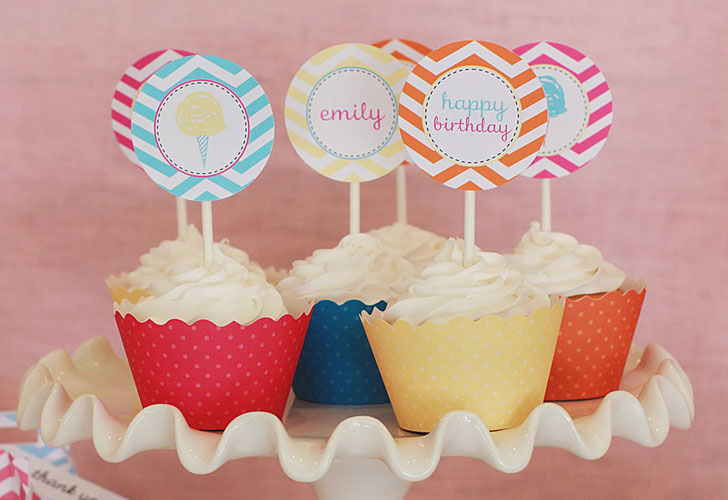 best printable birthday party decorations for kids inhabitots