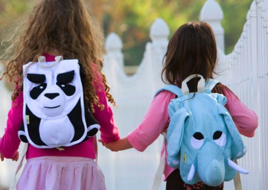 organic cotton backpack, back to school, ecozoo