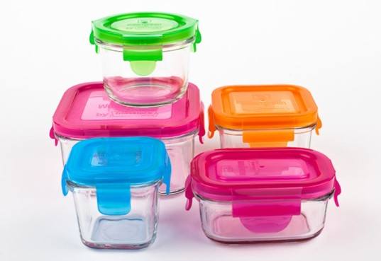 wean green, wean cubes, glass storage containers, green kids, green baby, reusable lunch containers, glass containers for kids lunch, non-toxic glass storage