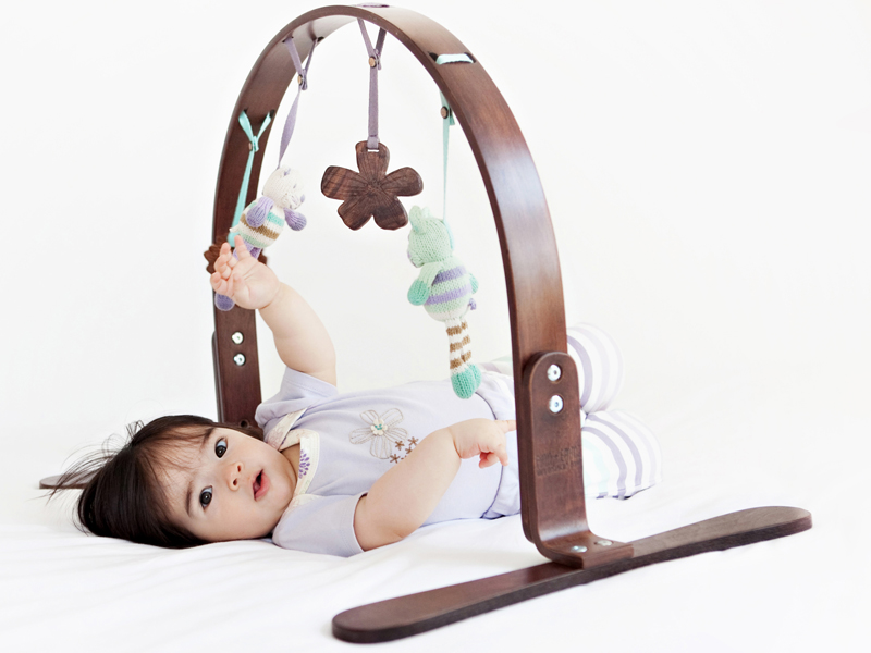 Finn Emma S Wooden Baby Play Gyms Blend With Adult Decor