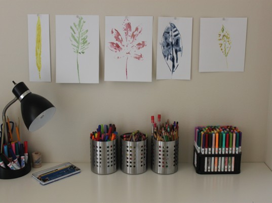 eco kids, green kids, sustainable design for kids, green design, how to, back to school, organization, jennie lyon