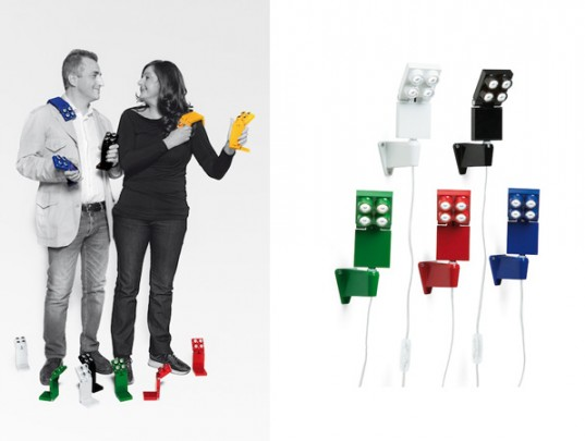 green design, eco design, sustainable design, Luxit, TOP FOUR collection, LEGO, LED lamps
