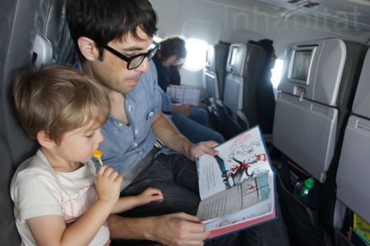 How to fly cross-country with toddlers, how to fly cross-country with a baby, How to fly with baby, how to fly with toddlers, how to fly with a 3 year old, how to fly with a two year old, how to fly with small children, dora the explorer, Benadryl, lollipops, frequent flyer, take off and landing, dr seuss, ipad apps for kids, best iphone apps, best ipad apps for toddlers