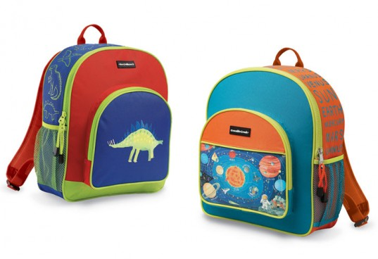 crocodile creek, toxin-free backpack, back to school
