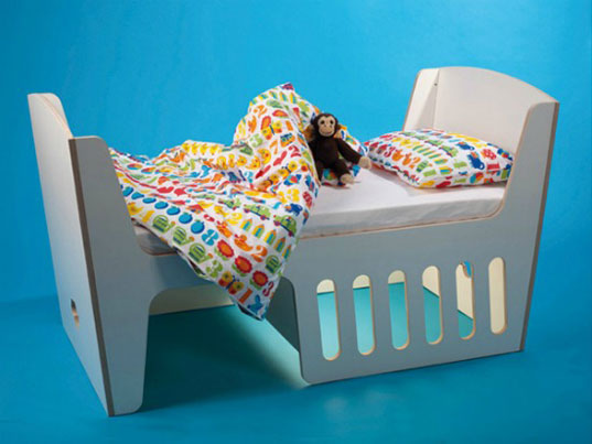 Rocky By Jll Amp Tofta Is A Cradle Rocking Chair And Toddler Bed All In One Inhabitots