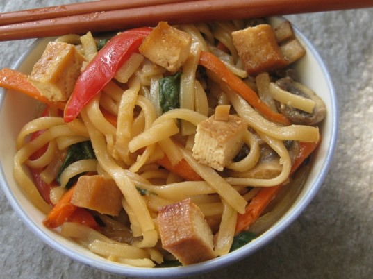 jap chae, gluten-free lunches