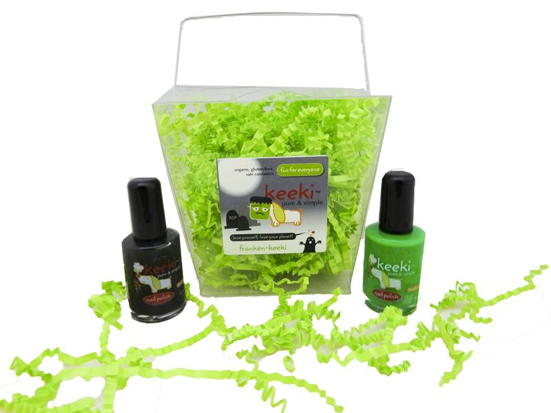 Keeki Non-Toxic Nail Polish Halloween Gift Packs | Inhabitots
