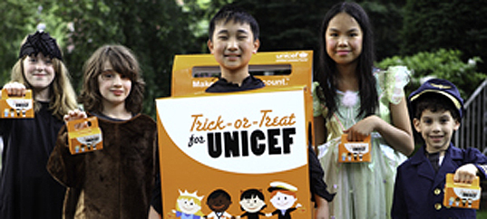 UNICEF Trick-or-Treat Box, Halloween, Crocs, charitable gifts, Coinstar