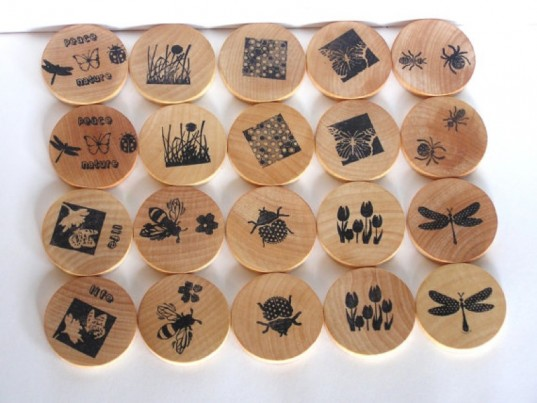 apple n amos, eco-friendly matching memory game