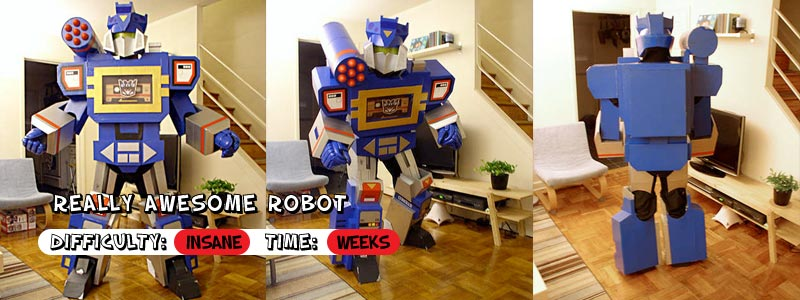8 DIY Cardboard Costumes That Are Outside the Box | Inhabitots