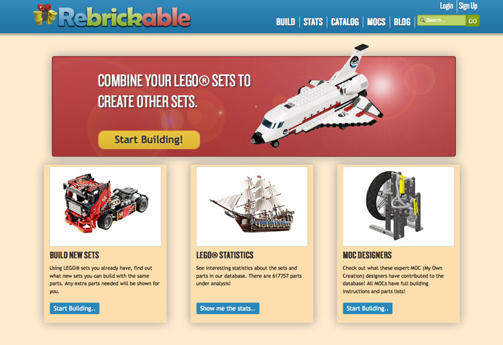 Rebrickable Offers New Ways to Build with Old LEGO Sets | Inhabitots