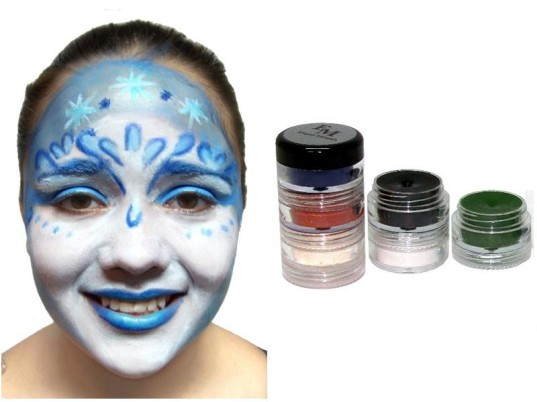 Halloween cosmetics, non-toxic face paint, halloween make-up, safe cosmetics for kids, hair color for kids, safe hair color, green halloween, eco halloween, non-toxic nail polish, non-toxic halloween, Halloween face paint