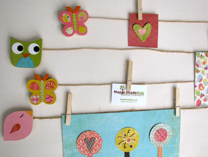 show off kids artwork with maple shade kids art clips inhabitots