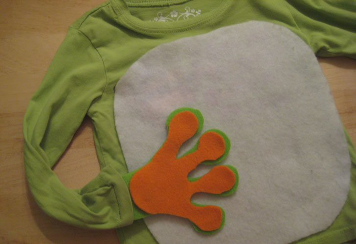Displaying ad for 5 seconds & HOW TO: Make an Easy Eco-Friendly Frog Halloween Costume | Inhabitots
