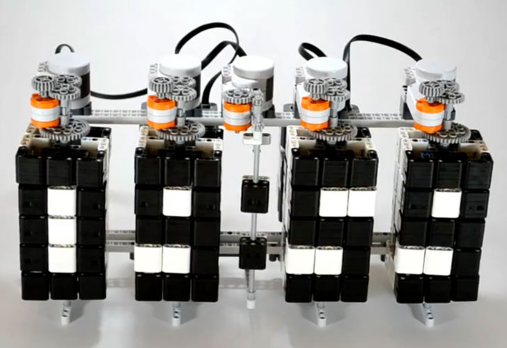 Hans Andersson Builds Clever Time Twister LEGO Mindstorms Digital ...