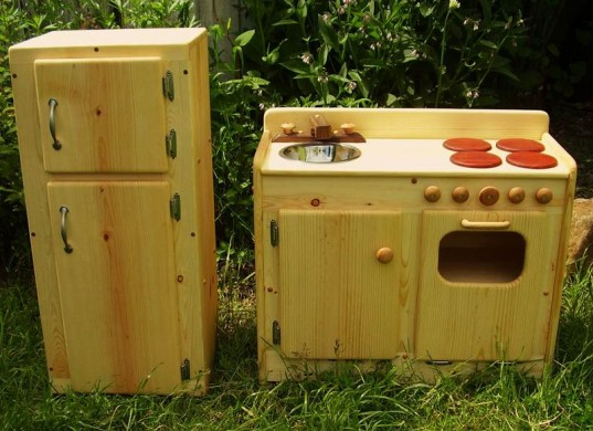 real wood play kitchen, MDF free play kitchen, eco toy, eco kitchen, green play kitchen, etsy play kitchen, affordable play kitchen