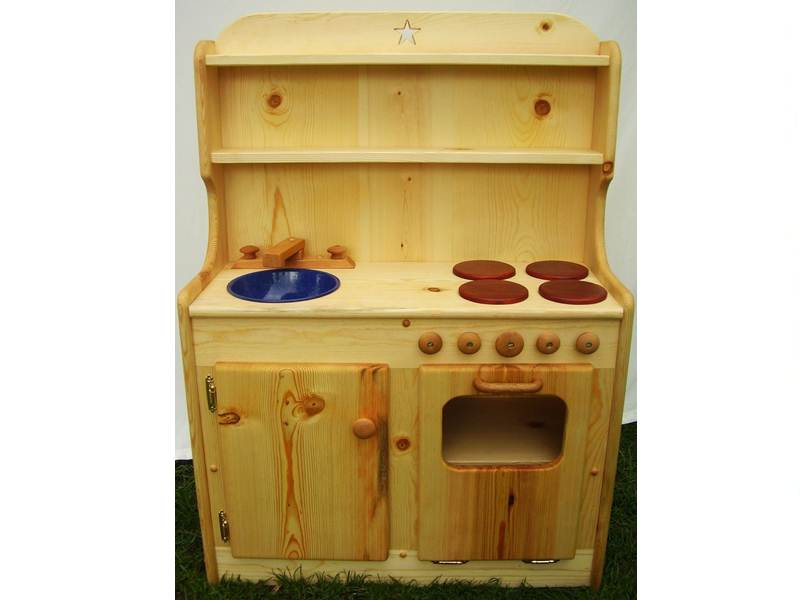 Heartwood Natural Toys Beautiful And Affordable All Wood Play Kitchen Sets Inhabitots
