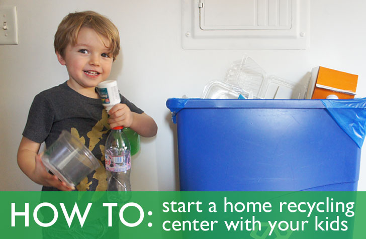 How To Set Up A Home Recycling Center With Your Kids Inhabitots