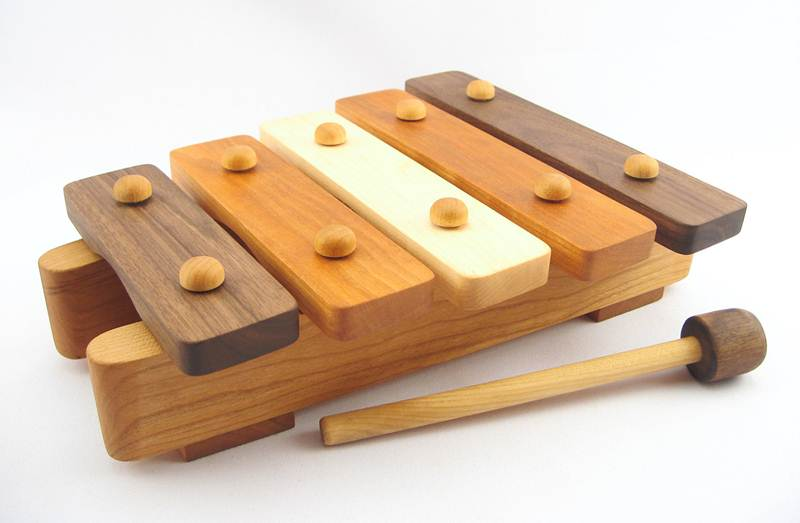 Eco-friendly Wooden Xylophone for Musical Fun | Inhabitots