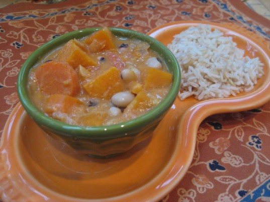 kwanzaa, groundnut stew, vegan cooking