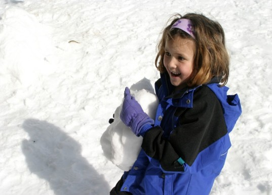 parenting, playing outside, winter workout