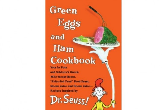 cookbook for kids, cookbook, Dr. Seuss, Green Eggs and Ham, cookbooks