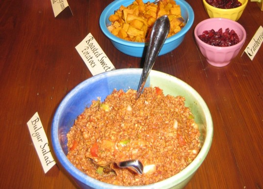 eco-friendly family Valentine's day, homemade meal