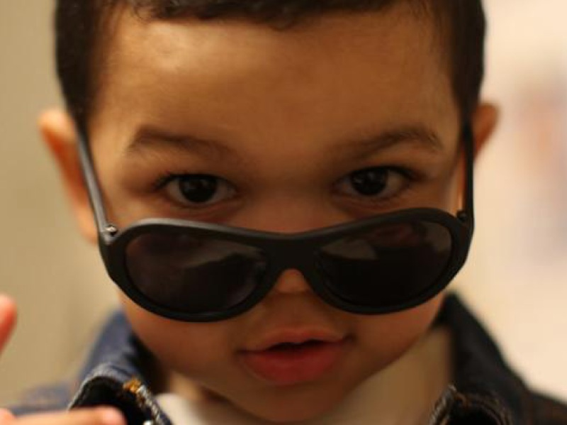 58e810c9ad7c Protect Baby s Eyes in Style with Rubber Babiators Sunglasses