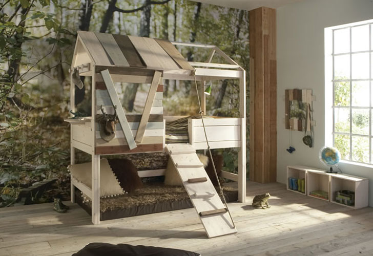 Kids Bedroom Tree House 6 amazing treehouse beds that bring magic to bedtime | inhabitots