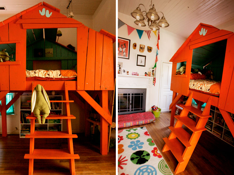 6 amazing treehouse beds that bring magic to bedtime | Inhabitots